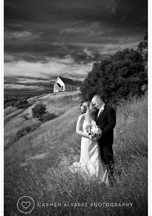 Old St. Hilary's Church Wedding Photography | Tiburon, CA | Nicole & Matt