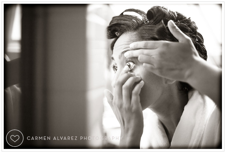 Claremont Hotel Wedding Photo