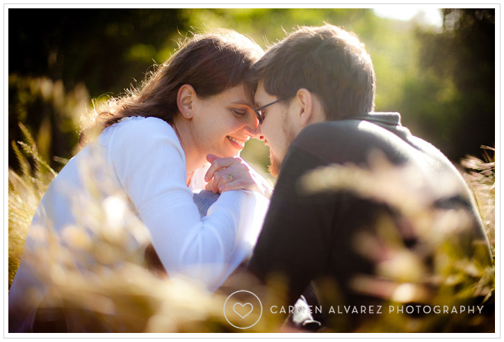 Engagement photo session, Tilden Park, Berkeley photography