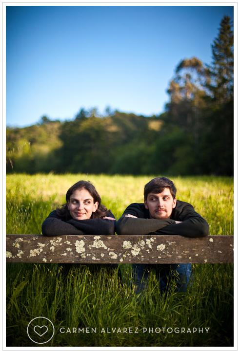 Engagement photo session, Tilden Park, Berkeley photography