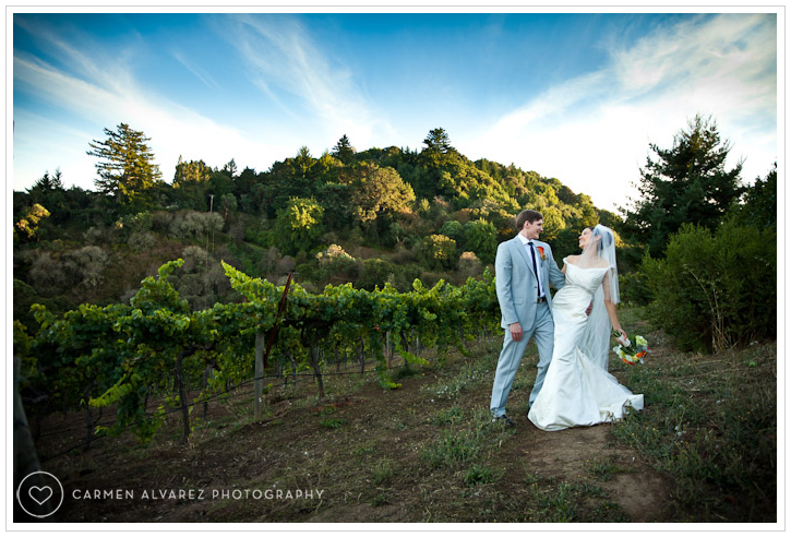 Thomas Fogarty Winery Wedding Photography, Woodside, CA wedding photos