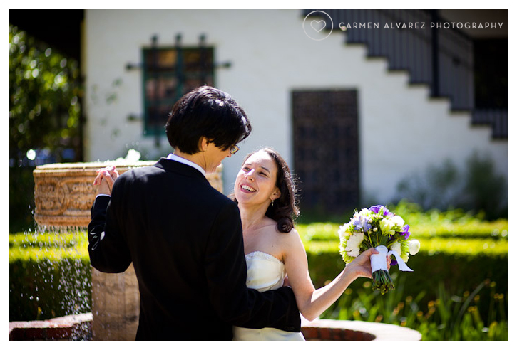 Allied Arts Guild Wedding Photography, Menlo Park, CA