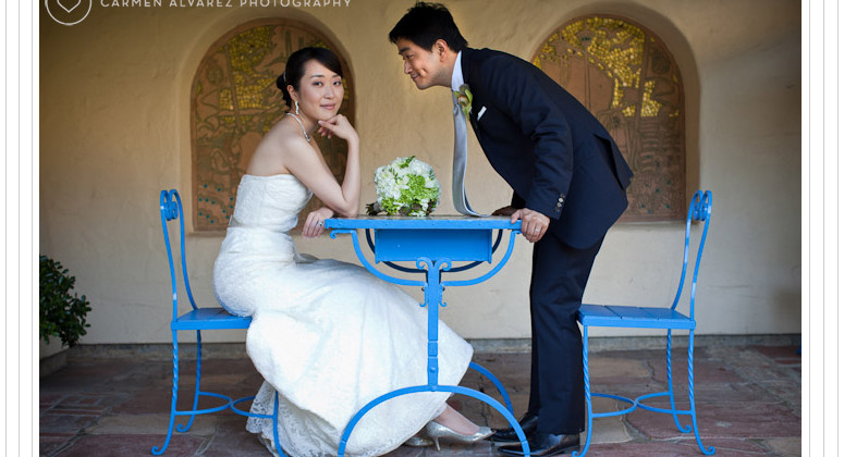 Allied Arts Guild Wedding Photography, Menlo Park | Valley Presbyterian Church, San Francisco Wedding Photography | Yooju + Li