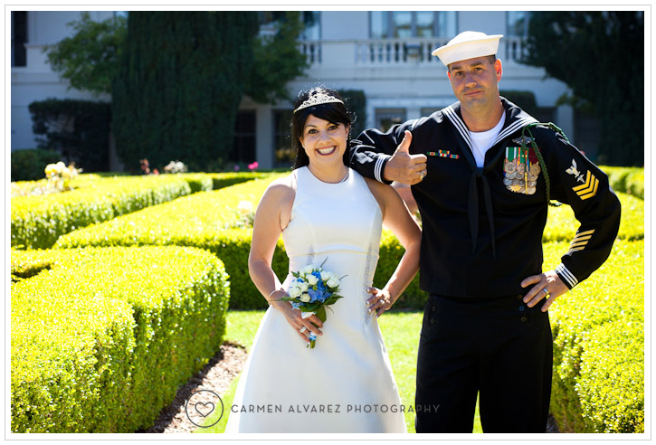 Monterey Naval School, Monterey Wedding Photography