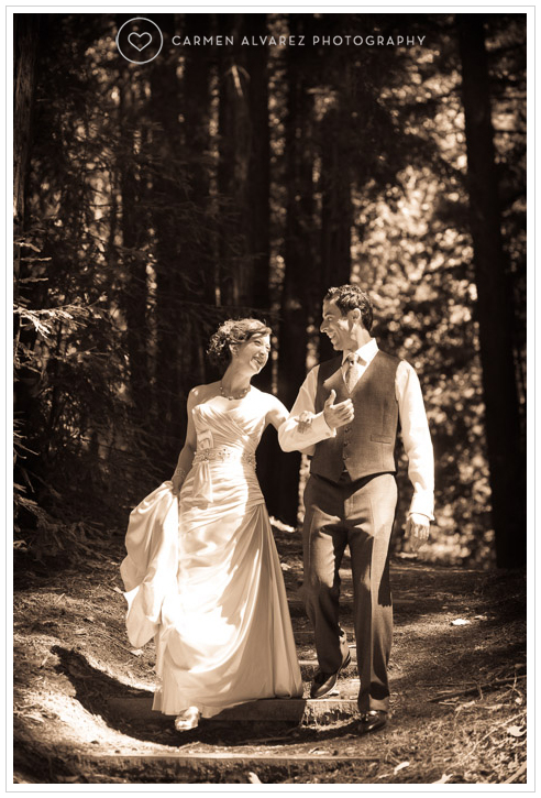 Sequioa Retreat Center, Ben Lomond Wedding Photographer