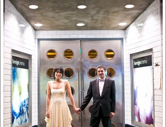 Foreign Cinema Wedding | San Francisco Wedding Photography | Jeneya + Christian