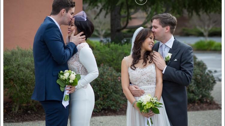 Laura + Gary Private Wedding Ceremony